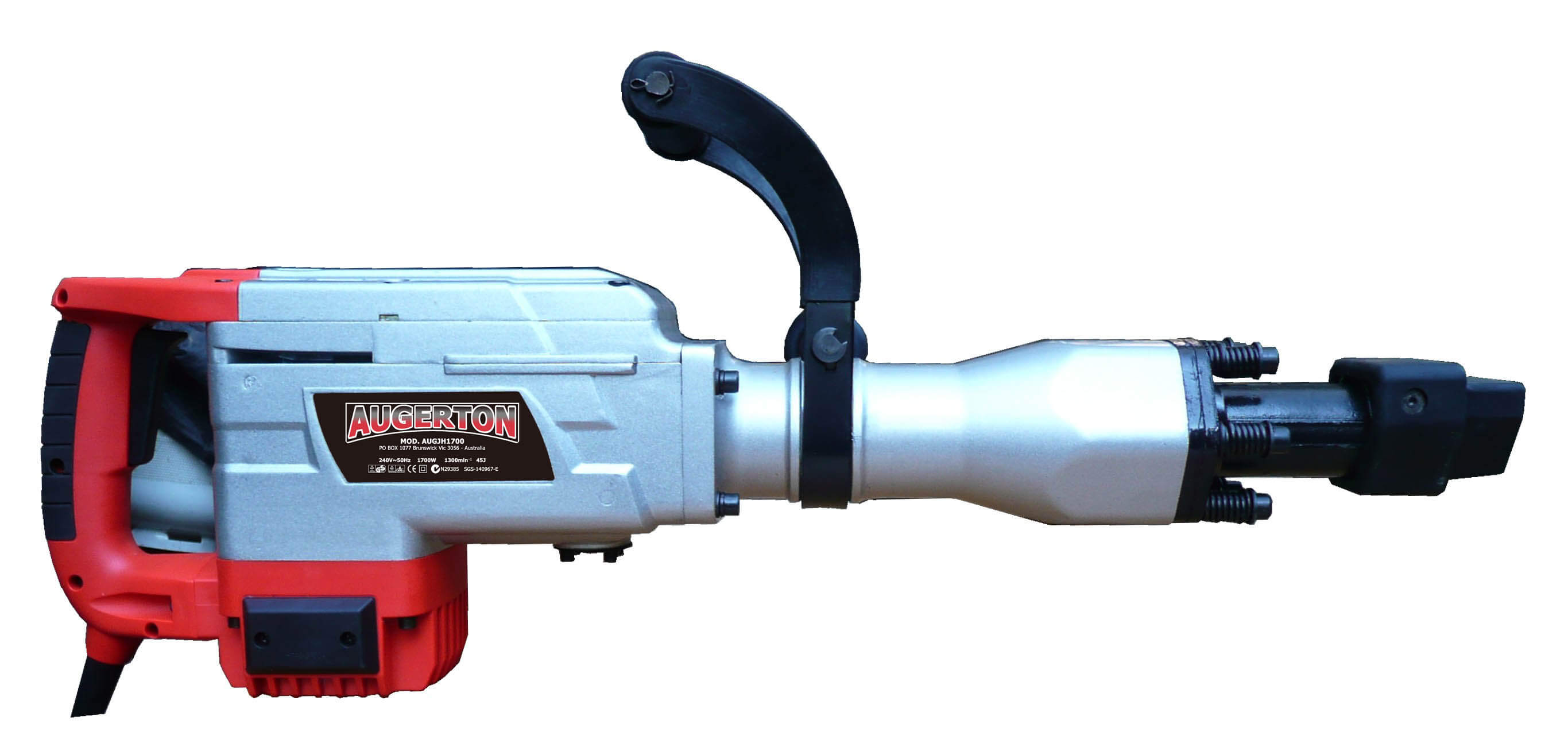 Augerton 1700w Jack Hammer With 2 Chisels Amp Clay Spade