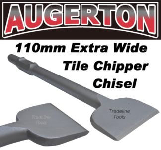 Augerton 110mm  extra wide tile chipper chisel