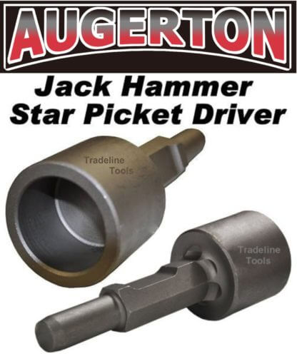 Augerton Jack Hammer Star Picket Driver