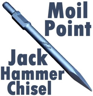 Augerton JACK HAMMER MOIL POINT ROCK BREAKER CHISEL
