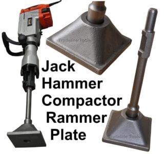 Augerton Jack Hammer Compactor Rammer Plate. Tamper. Packer.