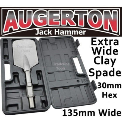Augerton JACK HAMMER SQUARE MOUTH EXTRA WIDE SERIES CLAY SPADE CHISEL
