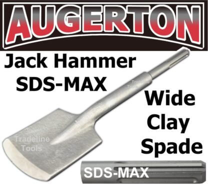 Augerton JACK HAMMER SDS MAX SQUARE MOUTH LONG SERIES CLAY SPADE CHISEL
